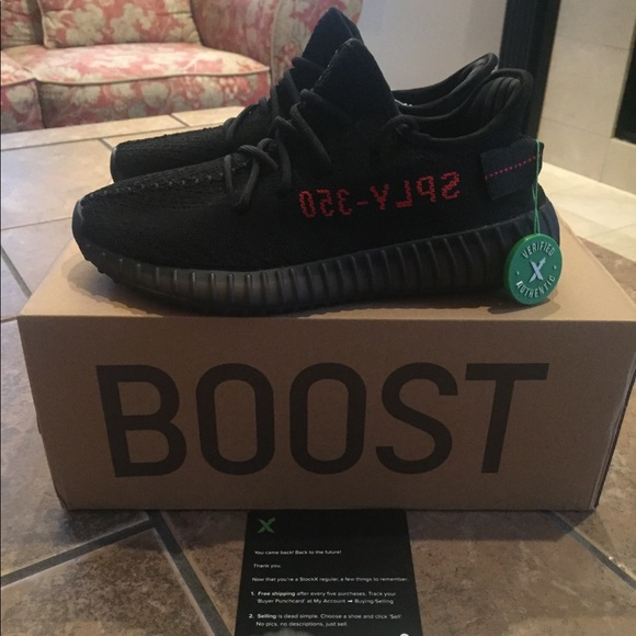 9221d1e73 Adidas Yeezy Boost 350 V2 Bred Size 6.5 Brand NEW